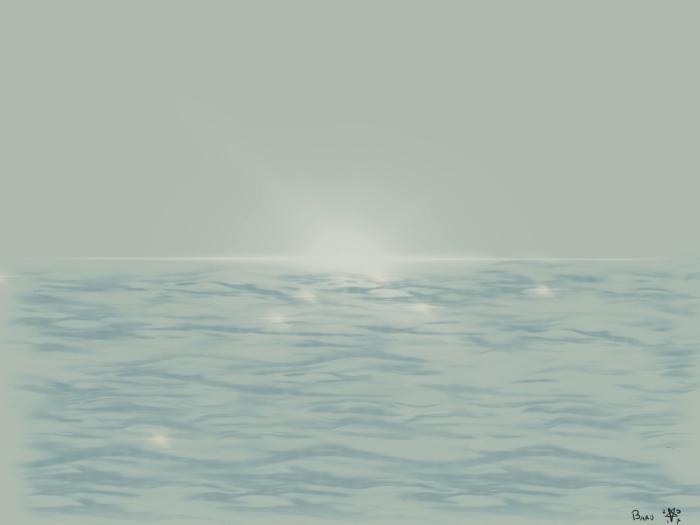 De Zon komt op over de oceaan - (c)Bard 2017
