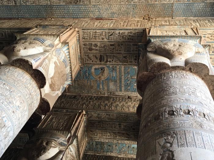 Hoe Grieks is deze Egyptische tempel?